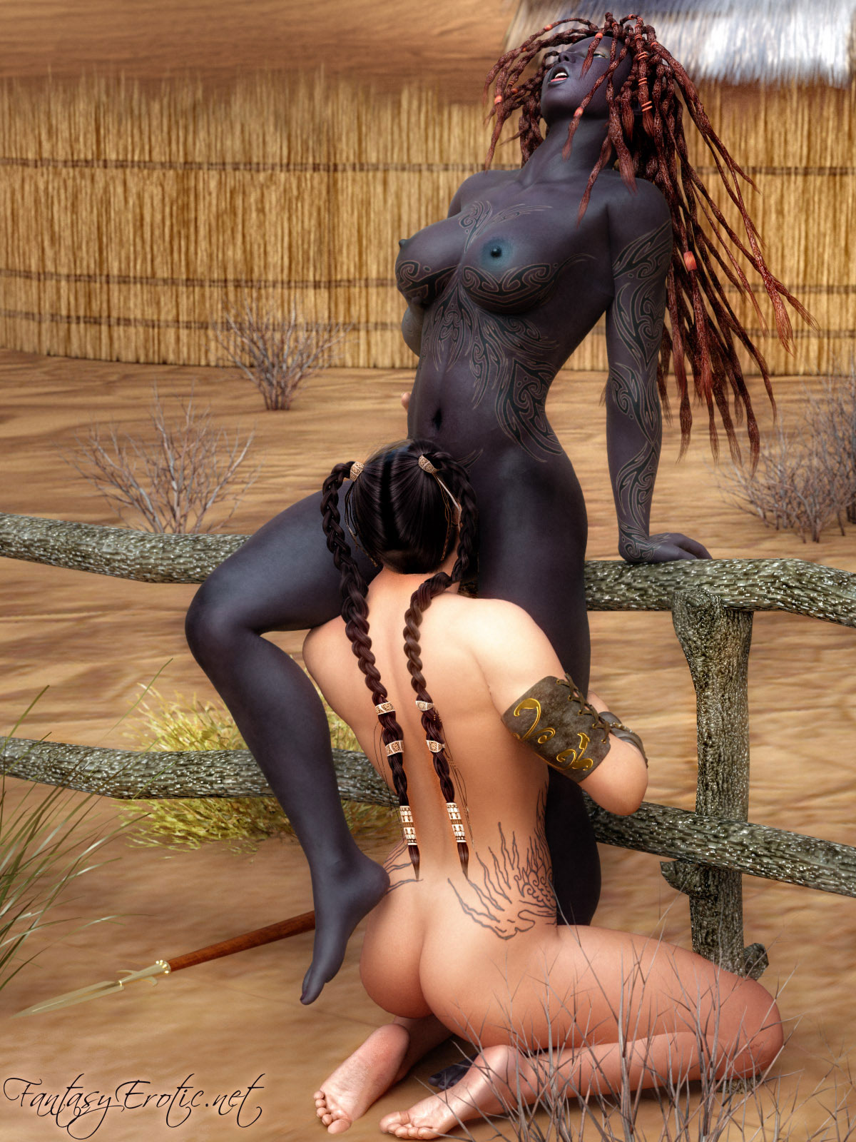 Dark fantasy artwork nude hentay beauty pussys
